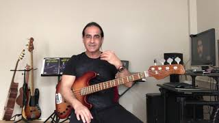 Bas Gitar Dersi - Alla Beni Pulla Beni