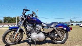 10. 2006 Harley Davidson Sportster 883