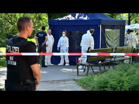 Mord durch Fahrradfahrer in Berliner Park: Verdächtig ...