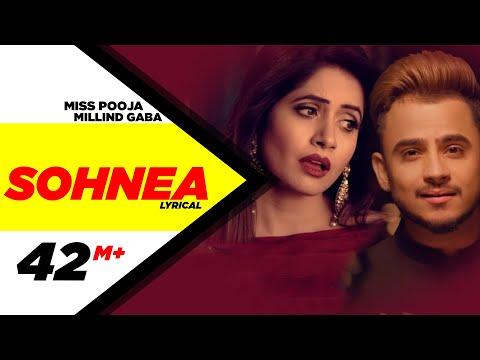 Sohneya ( Lyrical Video ) | Miss Pooja Feat. Millind Gaba | Punjabi Songs | Speed Records