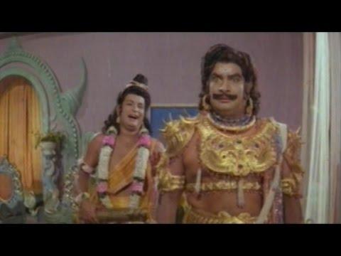 Sree Vinayaka Vijayamu Movie || Mushikasura Try to Stop Upanayanam of Lord Vinayaka Action Scene