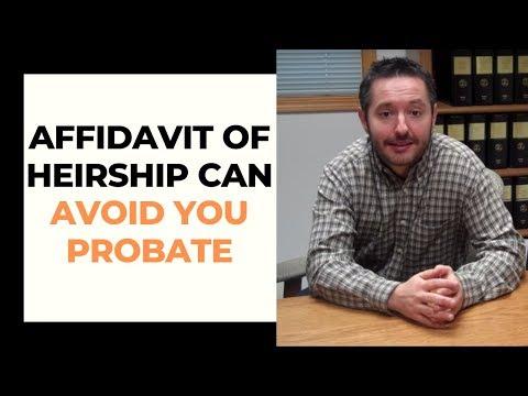 Affidavit of Heirship in MIssouri (Video): Real Estate That is