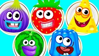 Video Fun Baby Learn Colors Kids Game - Kids Learn Matchup With Funny Food 2 - Kids Learning Video MP3, 3GP, MP4, WEBM, AVI, FLV Agustus 2017