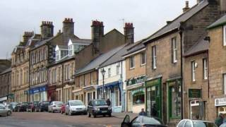 Rothbury United Kingdom  city photo : Old Rothbury Town, Northumberland, England - with folk song by Duncan Appleby