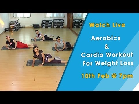Aerobics and Cardio Workout For Weight Loss – HomeRemedyTips
