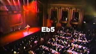 Barbra Streisand VS Whitney Houston VS Celine Dion: Live Belts C5-G5