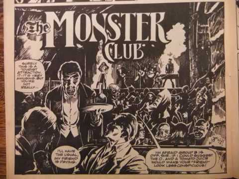 The Monster Club Comic Adaptation