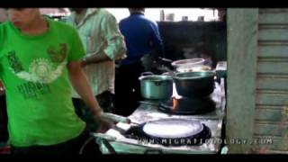 Street Food Eating In Bangkok's Little India (Pahurat), Thailand