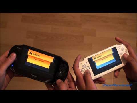 PS VITA - PSP Cross Platform Multiplayer - ModNation Racers