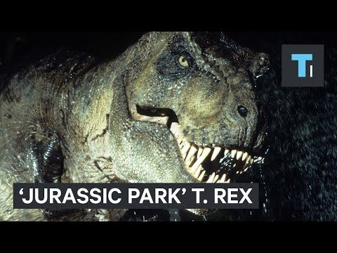 The T. Rex couldn't actually sprint like it does in 'Jurassic Park'