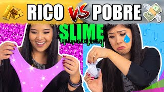 RICO VS POBRE FAZENDO AMOEBA/SLIME  Blog das irmãs