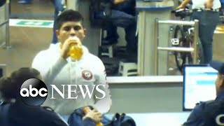 Government surveillance video shows U.S. border officers appeared to encourage, or at least permit, Mexican teen to drink from a bottle containing liquid methamphetamine.