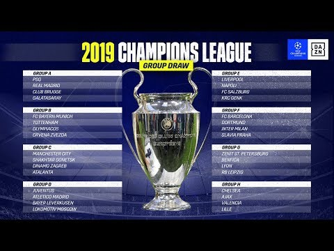 HIGHLIGHTS  UEFA Champions League Group Stage Draw