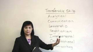 Transferable Job Skills, How to find a new job