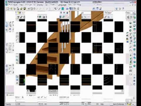How to use AutoCad to insert a bullnose step into Stairdesigner