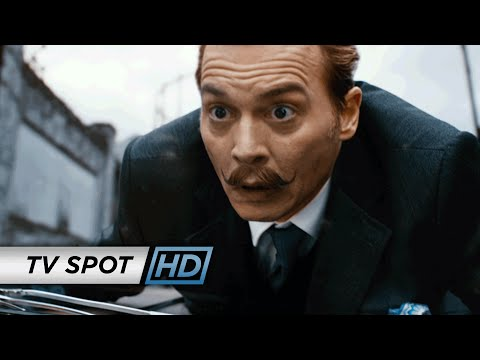 Mortdecai TV Spot 'Johnny Depp'