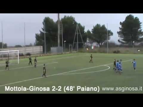 Preview video <strong>MOTTOLA-GINOSA 3-2 Illude il vantaggio di Perrone</strong>