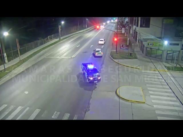 Robaron un auto en Pilar y los detuvieron en San Miguel