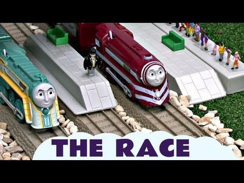 King Of The Railway Race Connor Caitlin Spencer Gordon Thomas & Friends