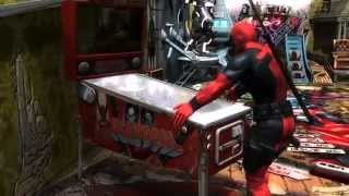 Marvel Pinball Deadpool Pinball