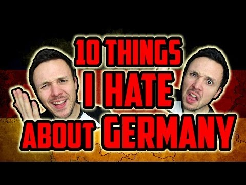 germany - You think Germany is great? Learn the 10 reasons why you should stay away from Sauerkraut country! Watch part 2 to find out about 10 things I LOVE about Germ...