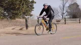 Riding Bike Against 60 MPH Head Wind