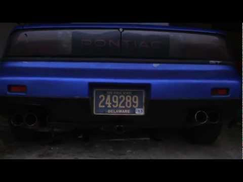 Pontiac FIero – How to install a hitch (1080p HD)