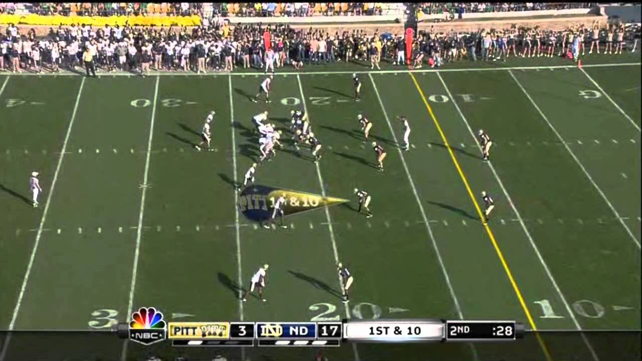 Manti Te'o vs Pittsburgh (2010)