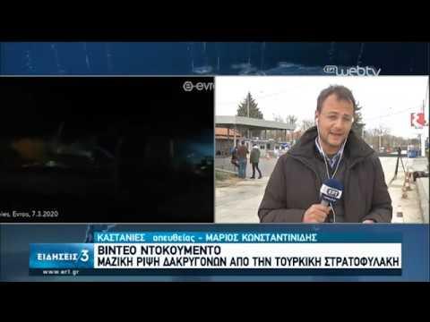 Ανάχωμα από τον Ελληνικό Στρατό – Ενισχύεται συνεχώς ο φράχτης στον Έβρο | 08/03/2020 | ΕΡΤ