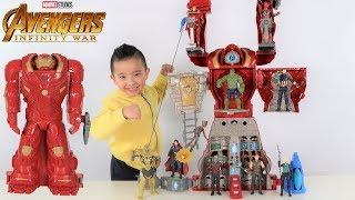 BIGGEST Avengers HULKBUSTER Ultimate Figure HQ Transforming Playset Superhero Fun With Ckn Toys