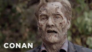 "Conan's ""The Walking Dead"" Cold Open"