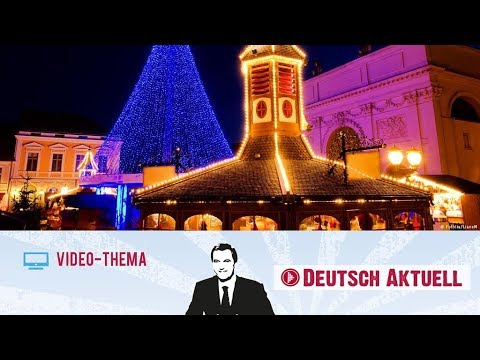 Potsdam in der Weihnachtszeit | Deutsch lernen mit Vide ...