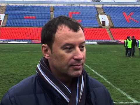 Андрей Грибенюк после матча СКВО-Витязь (Крымск)