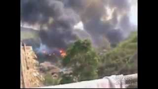 Mae Ho Thailand  city pictures gallery : Karenni Refugee Camp Fire In Mae Hong Son ThaiLand Raw Footage 2013