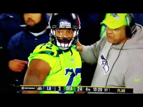 Michael Bennett Thursday Night Three Pump Violation
