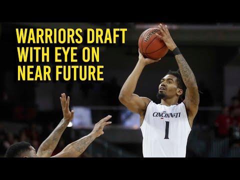 Warriors draft Evans with an eye toward playoff future (видео)