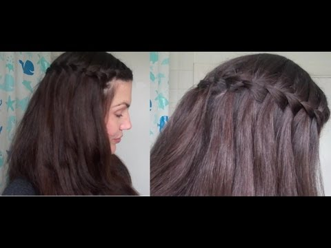 plait - ooooooo, HD - get me! ☆ This really isn't a difficult style once you work out what you're doing. ☆ Start a regular French braid - - Take 3 strands - Top ov...