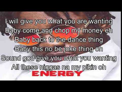 Runtown - Energy (Lyrics)