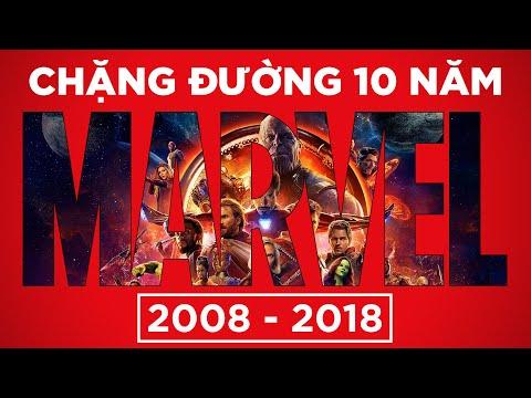 TÓM TẮT 10 NĂM VŨ TRỤ ĐIỆN ẢNH MARVEL (2008 - 2018) - Thời lượng: 14:50.
