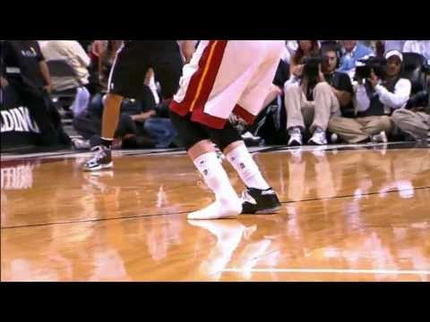 three pointer - Check out this amazing three pointer from Mike Miller that he drains moments after he loses one of his shoes in Game 6 of the NBA Finals against the Spurs in...