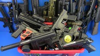 Video Box of Toys !!! Guns Toys Video for kids MP3, 3GP, MP4, WEBM, AVI, FLV Desember 2018