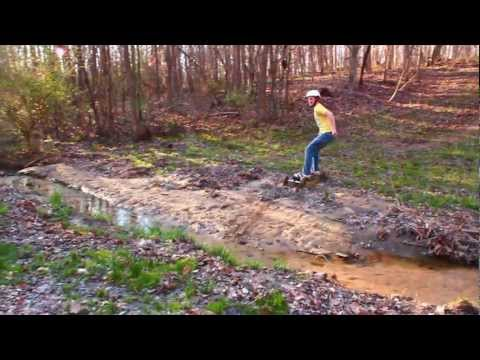 Mountain Boarding Fail