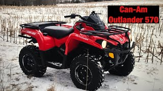 5. Can-Am Outlander 570- The new quad!