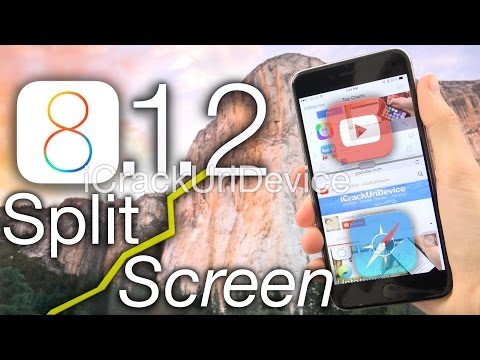 BEST iOS 8 Tweak Jailbreak iOS 8.1.2 – Split-Screen Multitasking: ReachApp Cydia iPhone 6 Plus, iPad