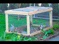 Видео - Строим клетку за 15 минут!!! Кролиководство, кролики, морские свинки, хомяки