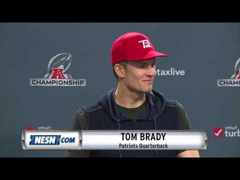 Video: Tom Brady Patriots vs. Chiefs AFC Championship Press Conference
