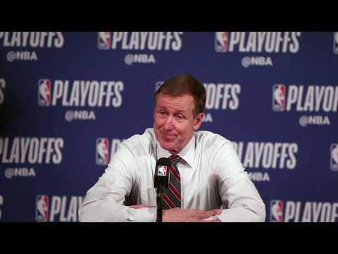 Trail Blazers-Thunder: Terry Stotts after Portland wins Game 1