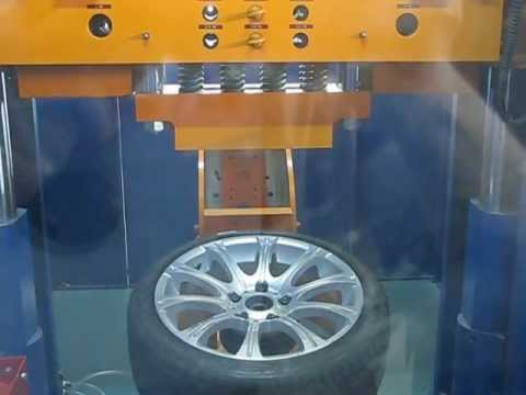 Прочность колёсных дисков WSP Italy W648 ZURIGO на удар спицы (БМВ)