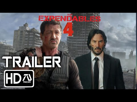 The Expendables 4 Trailer #2 [HD] Sylvester Stallone, Keanu Reeves  (Fan Made)