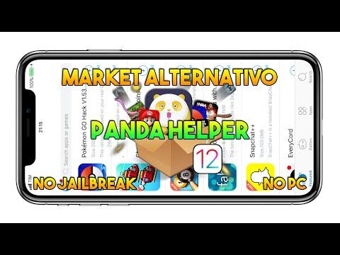 MARKET ALTERNATIVO IOS 11.2.2 (Panda Helper) NO JAILBREAK / NO PC / NO REVOKE - App IOS